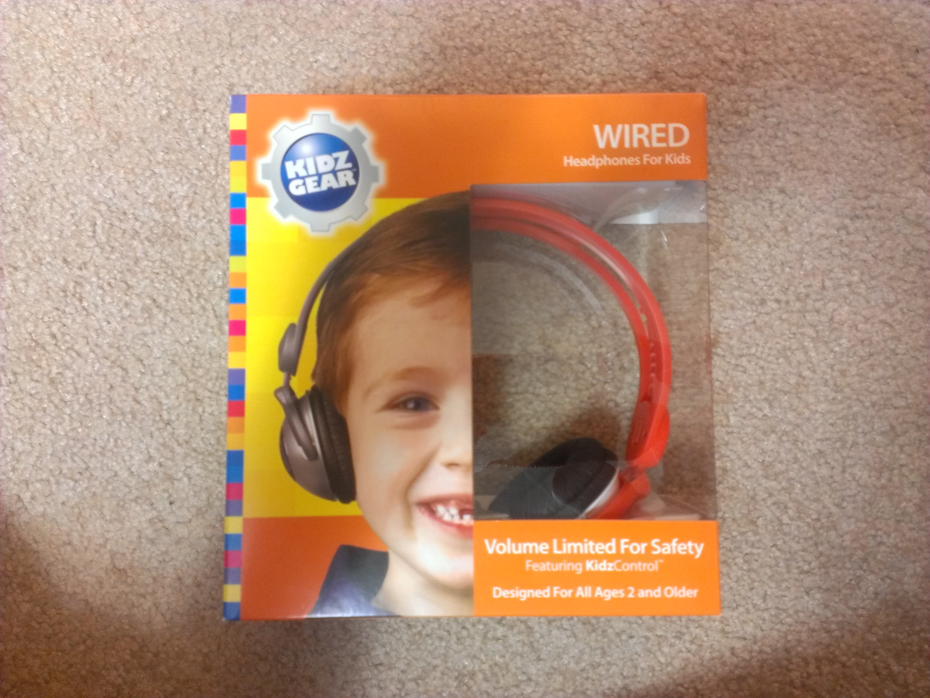 Kidz Gear volume limiting headphones