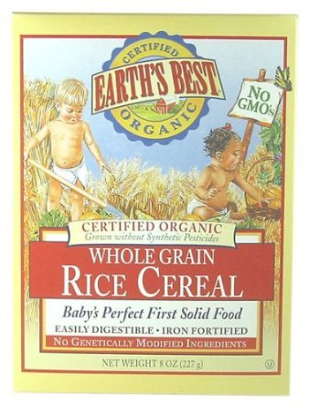 Earth's Best Rice Cereal