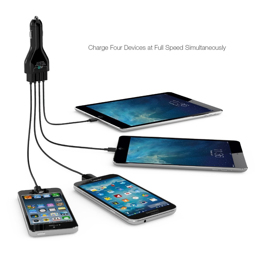 Aukey Multi Port USB charger