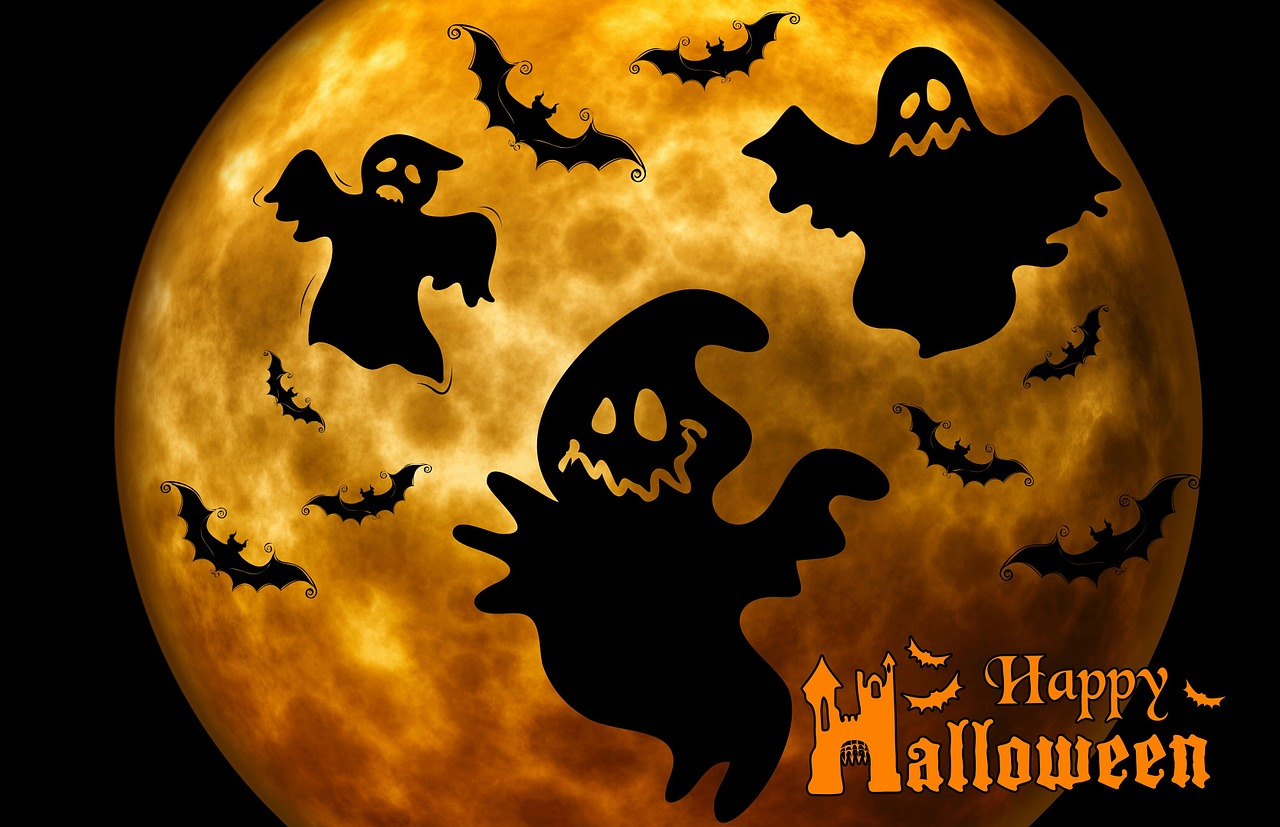 Halloween Moon from Pixabay user Alexas_Fotos