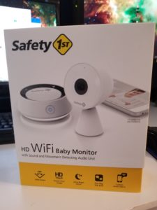 Safety 1st HD WiFi baby monitor review