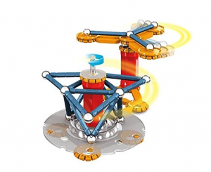 Geomag Mechanics 86-piece magnetic motion